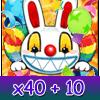 Rascal Rabbit Balloon x40 + 10